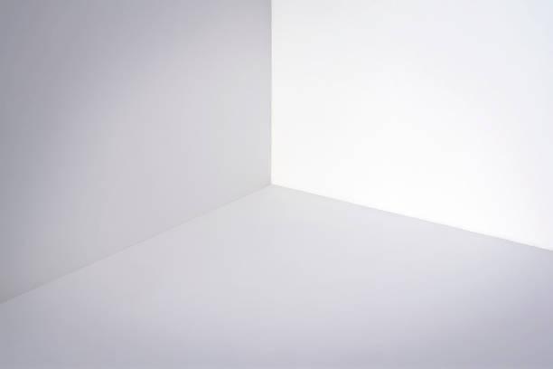 empty white corner - róg zdjęcia i obrazy z banku zdjęć