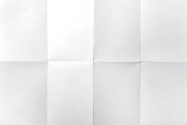 empty white crumpled paper - 弄皺的 個照片及圖片檔