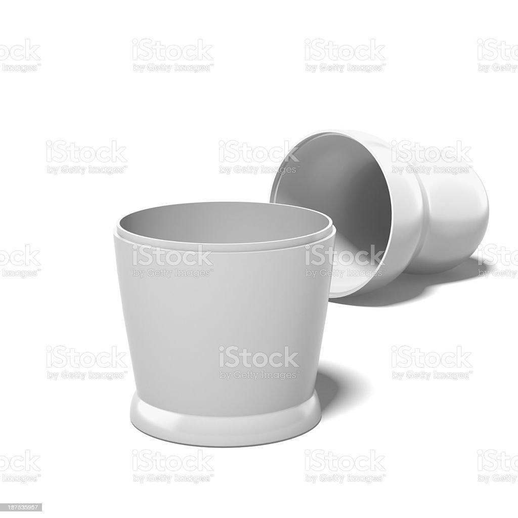 empty white doll royalty-free stock photo