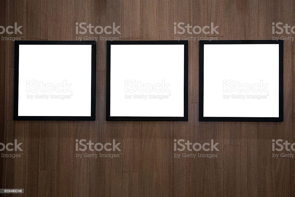empty white isolated frame stock photo