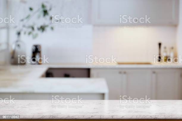 Empty white marble table top and kitchen background for food and picture id961113942?b=1&k=6&m=961113942&s=612x612&h=jxqdk7tao9 b8e6uiijaoz2uwpcaimwb56gd86bzfmc=