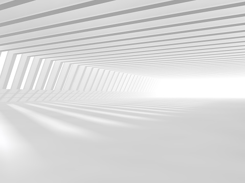 478919130 istock photo empty white open space 3D rendering 478919124