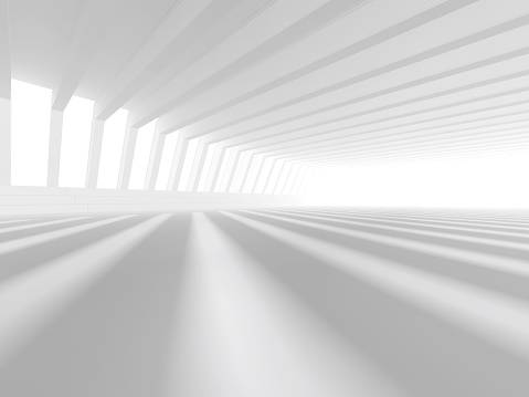 478919130 istock photo empty white open space 3D rendering 478919130