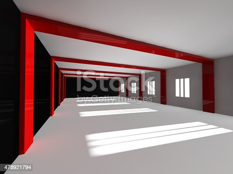 478919130istockphoto empty white open space 3D rendering 478921794