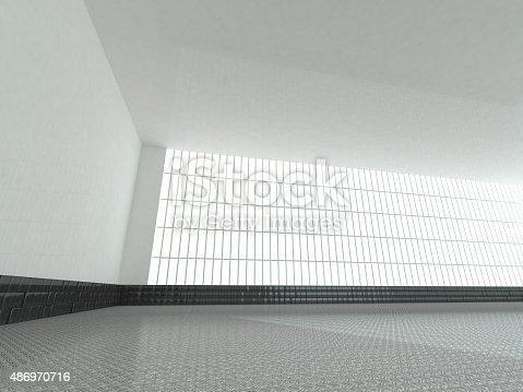 478919130istockphoto empty white open space 3D rendering 486970716