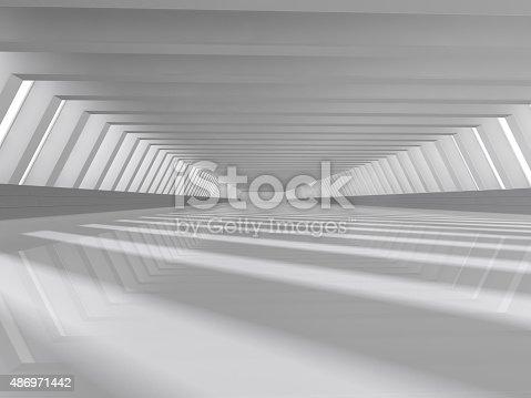 478919130istockphoto empty white open space 3D rendering 486971442