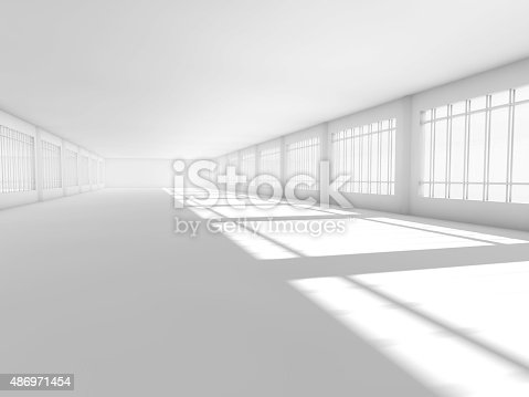 478919130istockphoto empty white open space 3D rendering 486971454