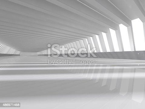 478919130istockphoto empty white open space 3D rendering 486971468