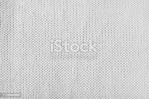 istock empty white or grey knitted texture 1125640932