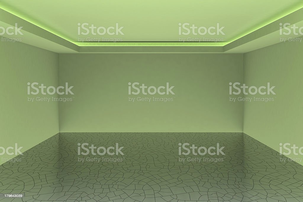 Empty white room for your interior design royalty-free stock photo