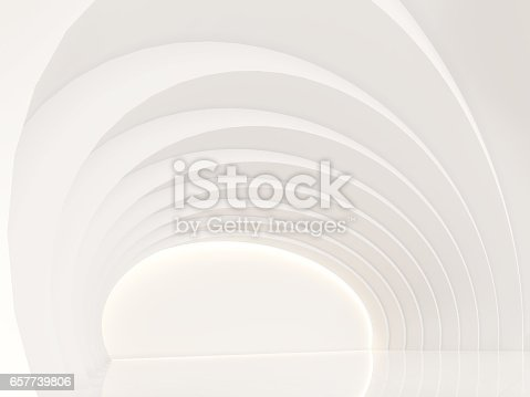 658604764istockphoto Empty white room modern space interior 3d rendering image 657739806