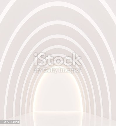 658604764istockphoto Empty white room modern space interior 3d rendering image 657739820