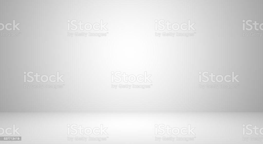 Empty white room stock photo