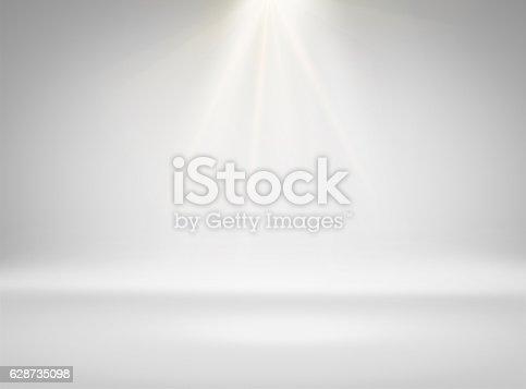 1015509020istockphoto Empty white room with lighting 628735098