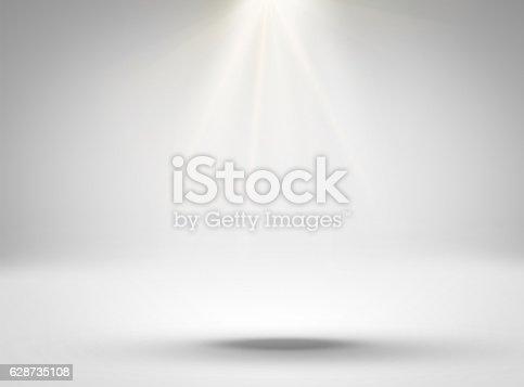 1015509020istockphoto Empty white room with lighting 628735108