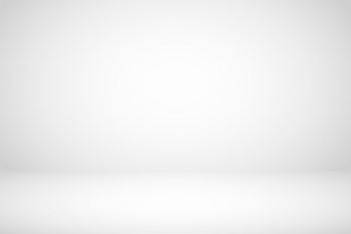 Empty white studio room abstract background.