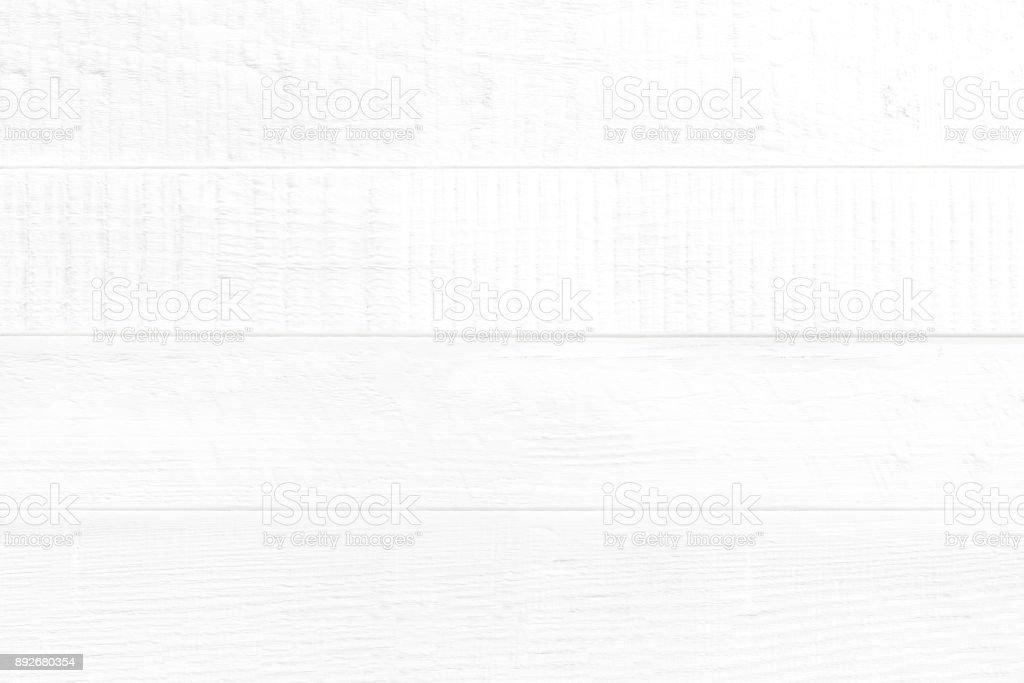 Leere weiße Holzplatte Wand Textur für Hintergrund – Foto