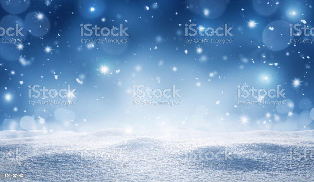 Leere Winter Hintergrund – Foto