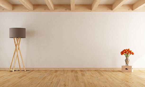 Empty withe room stock photo