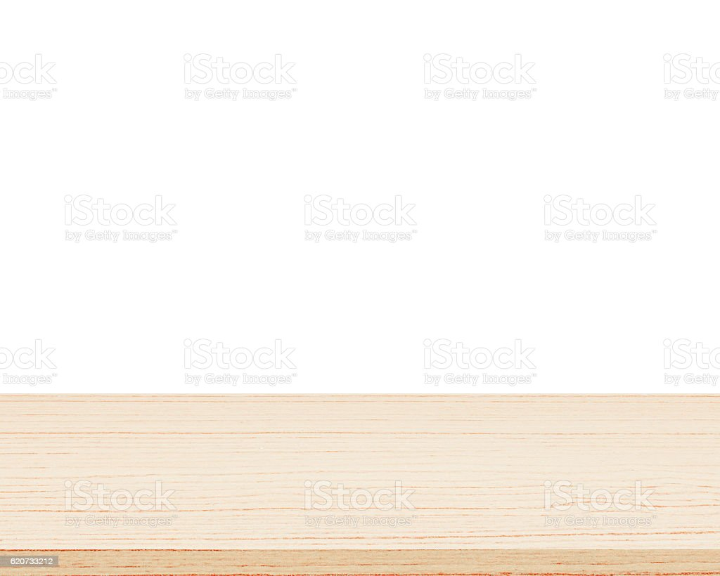 white table top background. empty wood table top isolated on white background royalty-free stock photo b