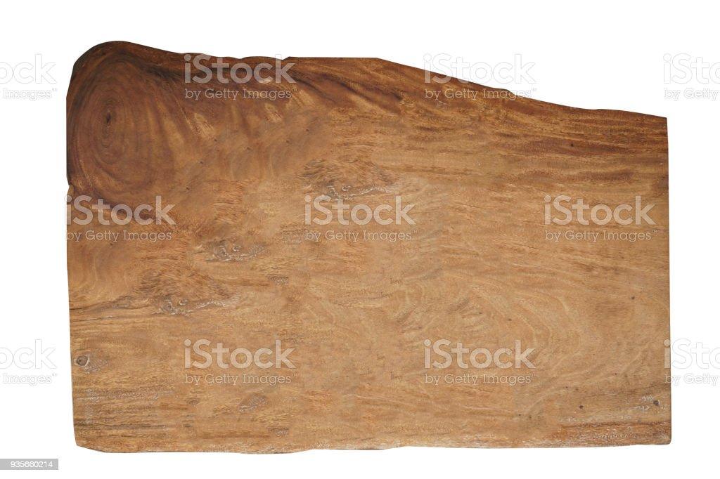 Empty Wooden Board stock photo