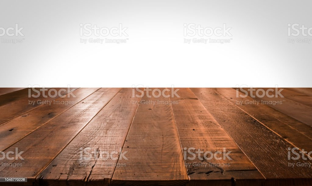Empty wooden table for product placement - Royalty-free Abstrato Foto de stock