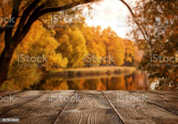 Empty wooden table over the autumn landscape picture id822623640?b=1&k=6&m=822623640&s=612x612&h=th5t2kwzrnf4emetzn6idvkk1zfykjk6neo xe9fcrq=