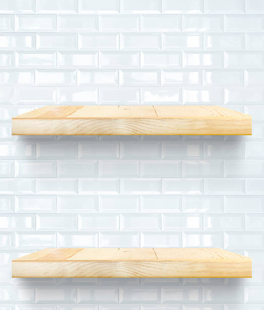 Empty wooden table top and shelf at white tile wall picture id476738652?b=1&k=6&m=476738652&s=612x612&w=0&h=no3mfiu3sg9og7je41zkdp2urhucyzg2asubjyl8wgs=