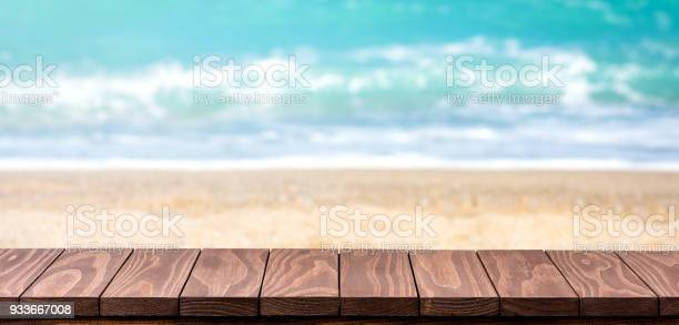Empty wooden table with blurred beach background picture id933667008?b=1&k=6&m=933667008&s=612x612&h=7jmnfgmsqfw9cxfsvk 9n8fkxmdlqpenhldvb7mqrty=