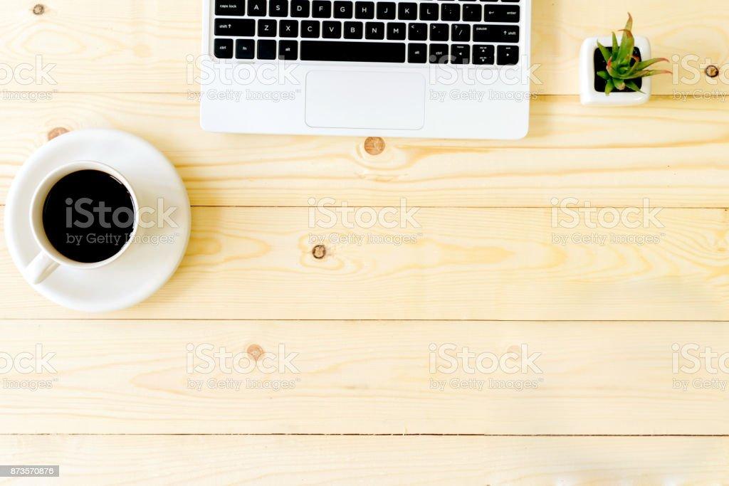 Leere Arbeitsplatz Office-Objekte – Foto