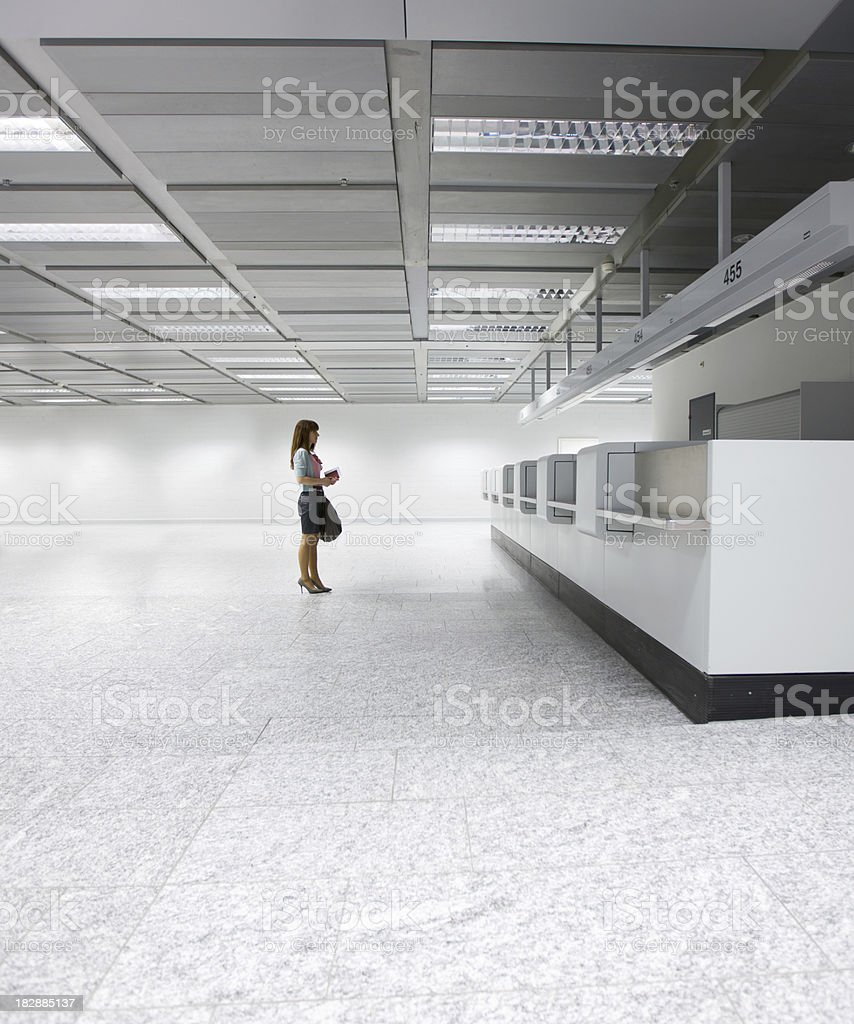 Emptyness with Copy-Space stock photo