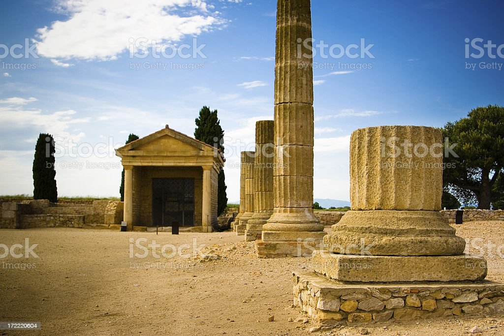Empuries royalty-free stock photo