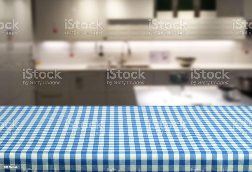Empy table stock photo