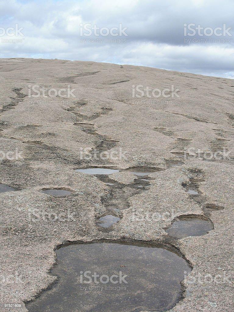 Enchanted Rock Surface royalty-free stock photo