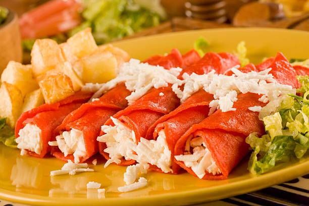 Enchilada - foto de stock