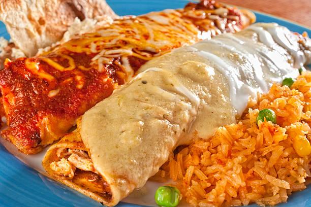 Enchiladas de - foto de stock