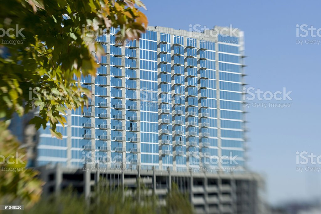 Encore Building, Nashville, Tennessee royalty-free stock photo