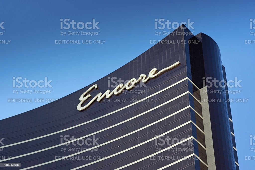 Encore hotel stock photo
