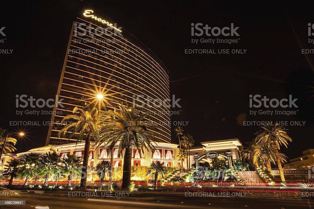 Encore Las Vegas Resort and Casino stock photo
