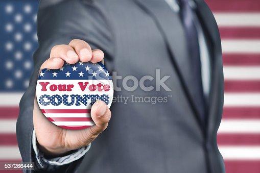 istock Encouraging to vote 537266444