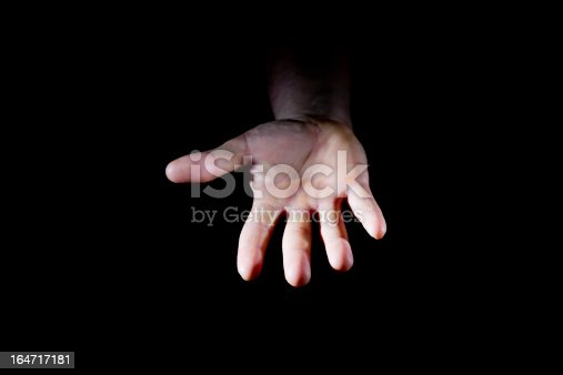 istock Encroachment From The Darkness For Help 164717181