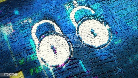 683716072 istock photo encryption background 1172807569
