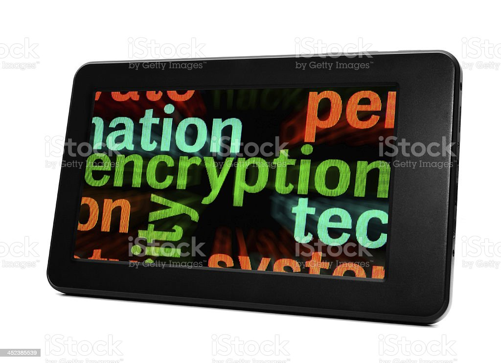 Encryption concept royalty-free stock photo
