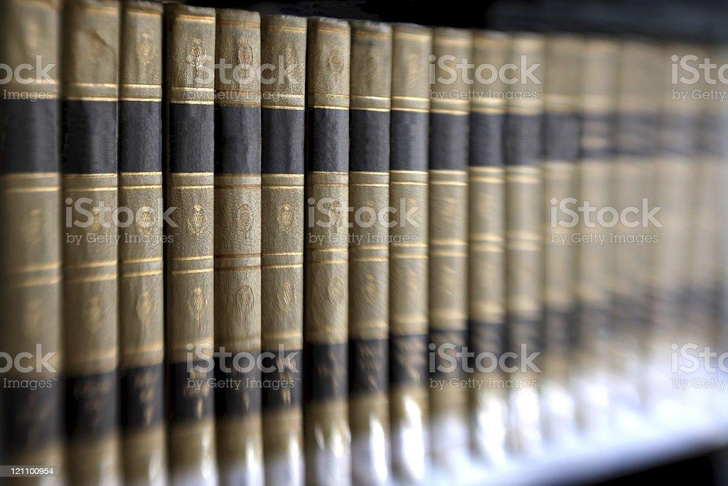 Encyclopedia royalty-free stock photo