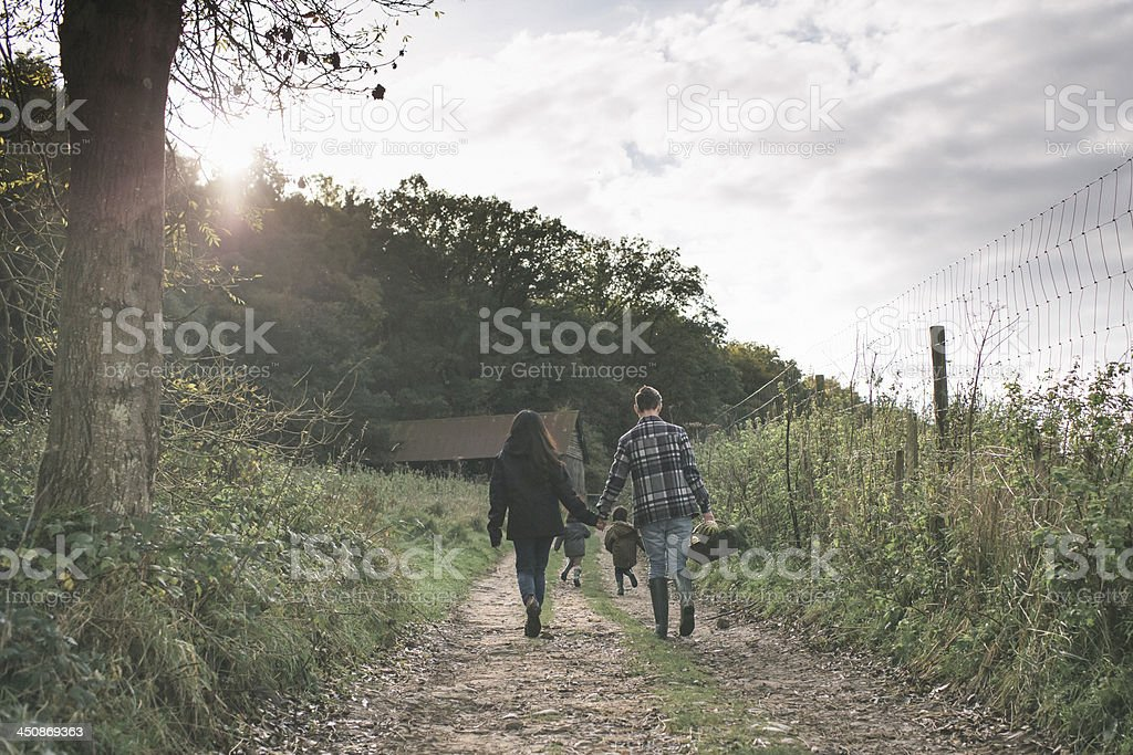 End of a nice day stock photo