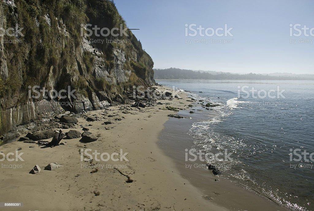 Конец Пляж Стоковые фото Стоковая фотография
