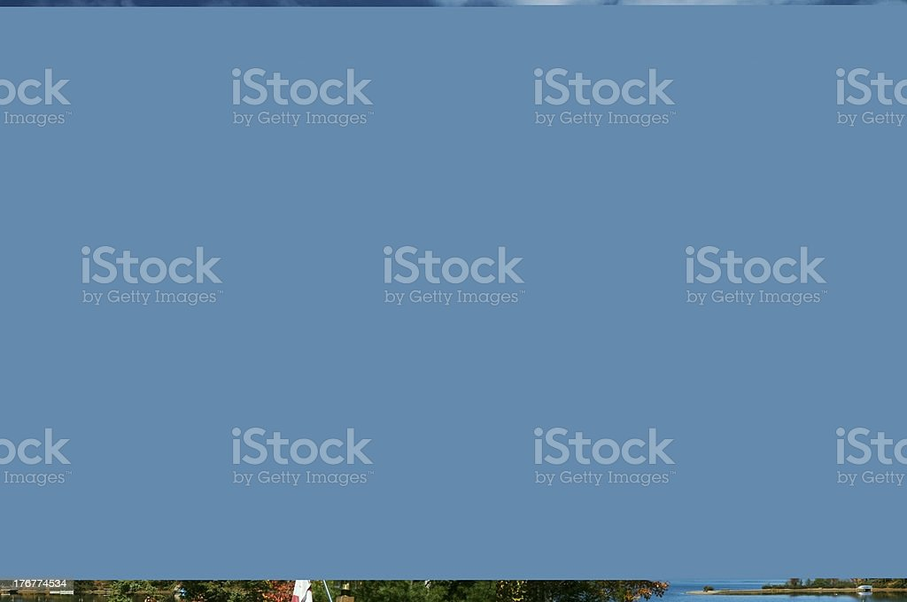 End of Cottage Season and Summer royalty-free stock photo