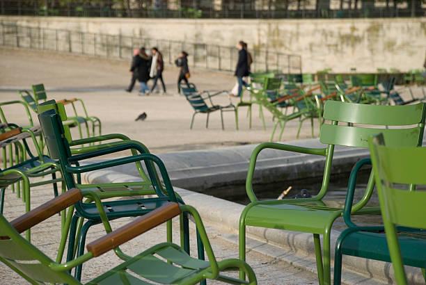 À la fin de la journée dans les Tuileries - Photo