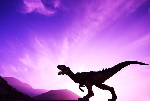 恐竜の終了 - 恐竜 ストックフォトと画像