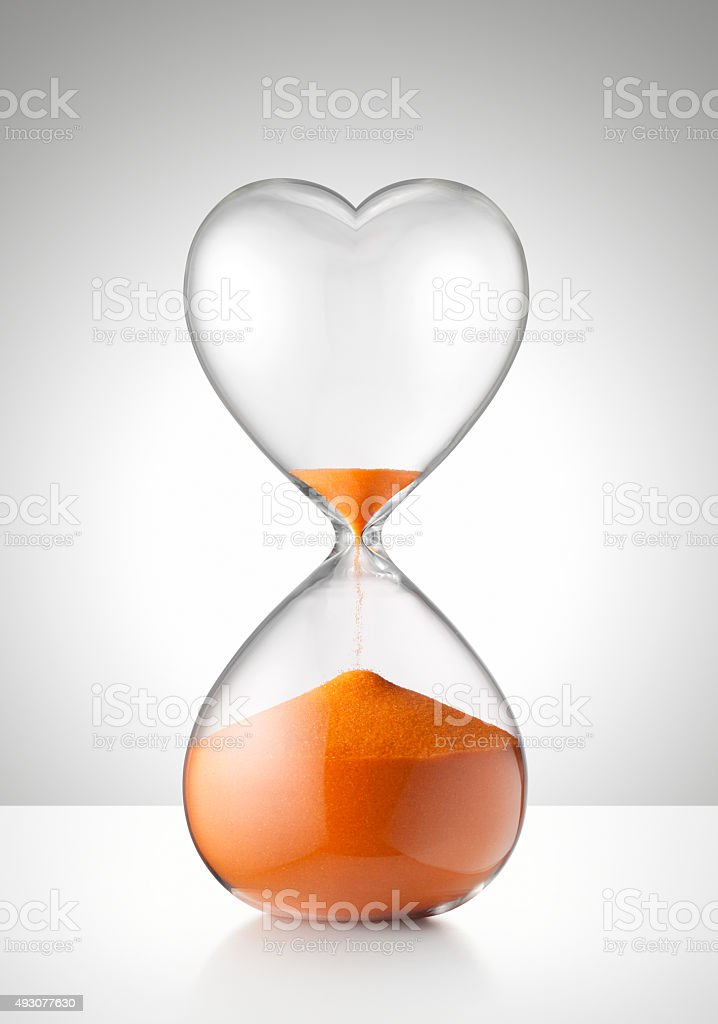 End of love stock photo